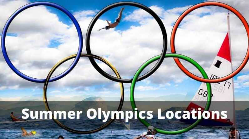 Summer Olympics Locations