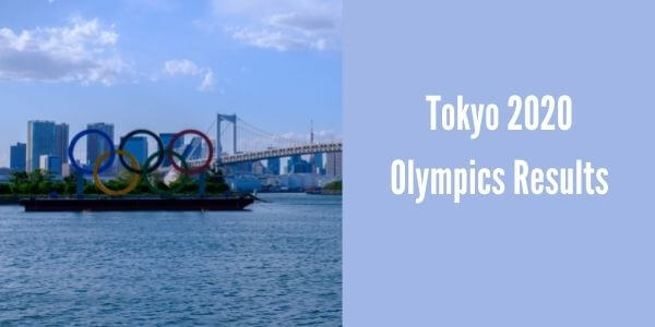 Tokyo 2020 Olympics Results