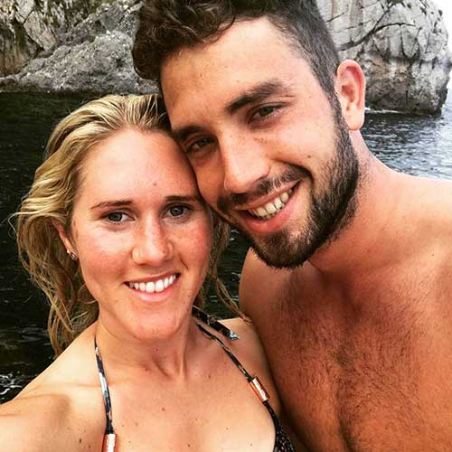 Calum Jarvis with Wife Jemma Jarvis