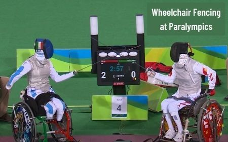 Wheelchair fencing at Paralympics